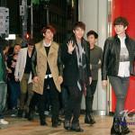 ニックンも参加、2PMが6人揃って来店!タワーレコード渋谷店グランドオープン!