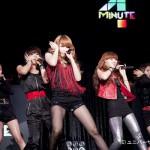 アジア最強ガールズグループ4Minute、初上陸ライブに1700人、日本デビューを報告。