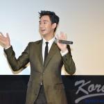 キム・スヒョン スクリーンデビュー映画「10人の泥棒たち」舞台挨拶に登壇!! 誠実さと優しさに人気急上昇!
