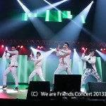 B1A4、Apink、DMTNの3組による「We are Friends Concert 2013」で横浜は熱帯夜!