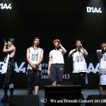 「Korepoニュース」B1A4、Apink、DMTNが集結!「We are Friends Concert 2013」開催!
