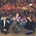 (写真追加)「取材レポ」<第1部>チュウォン、チャンソン(2PM)ら3人がイケメン対決!? 勝者は誰?「7級公務員」DVD-BOX発売記念イベント
