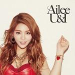Ailee(エイリー)、2ndシングル「U&I」アートワーク公開!&通常盤に本人作詞・作曲のオリジナル楽曲の収録が決定!