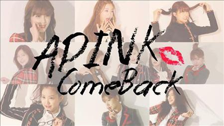 「A Pink」、31日にニューアルバムを発売