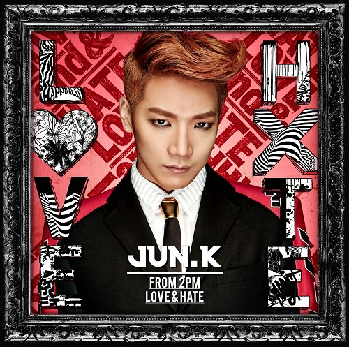 [Final] Jun. K (From 2PM) Mini Album『LOVE & HATE』通常JK_small