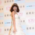 「取材レポ」アッキーナの理想のタイプはテギョン(2PM) ? チュ・ジフン?トークイベントで純白のウェディングドレス姿を披露!