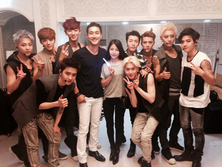 BoA&「SJ」シウォンら「EXO」を応援「これからが始まり」