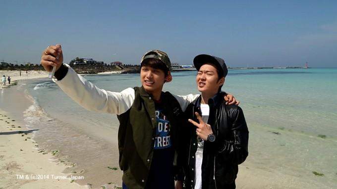 旅チャンネル Amazing KOREA#2 金寧海水浴場 チャンソプ