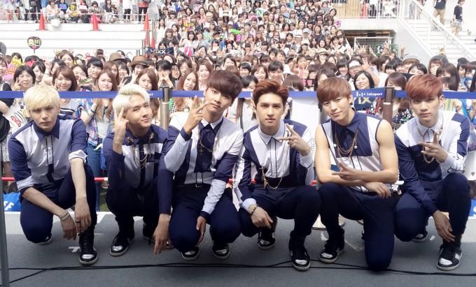 VIXX 日本デビューアルバム発売記念イベント0706