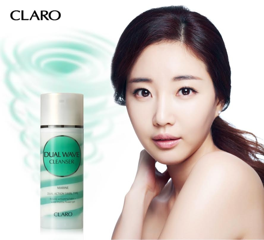 『CLARO DUAL WAVE CLEANSER』