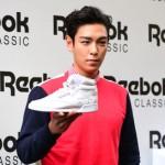 シューズマニア「BIGBANG」T.O.P、Reebok CLASICショーケースに参加