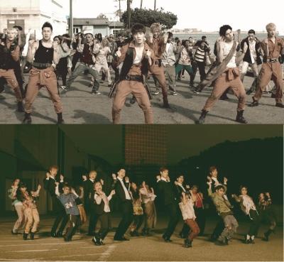 ゾンビ&キッズゾンビと共演「CROSS GENE」、「BILLION DOLLA」MV初公開!