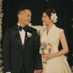 Lyn&イス、ロマンティックな結婚式の写真を公開