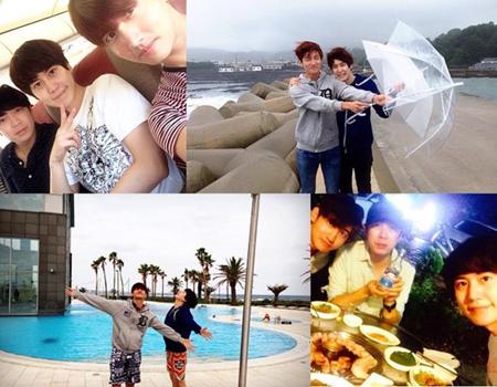 キュヒョン(SJ)、親友チャンミン(東方神起)と済州島へ癒し旅行