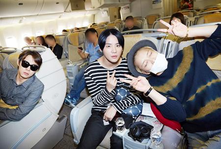 「JYJ」台湾到着ショットを公開