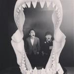 """「SHINee」Key&オンユ、いたずらっ子たちの""""誰の口が大きいか"""""""