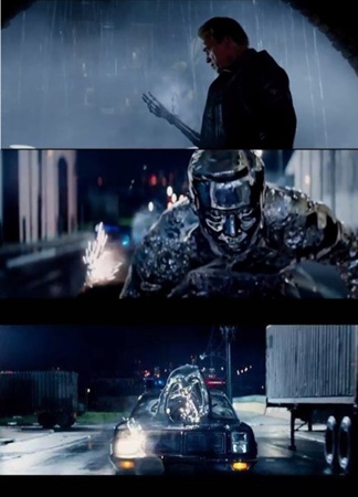 """イ・ビョンホン、「ターミネーター5」予告編に""""液体人間""""として登場"""