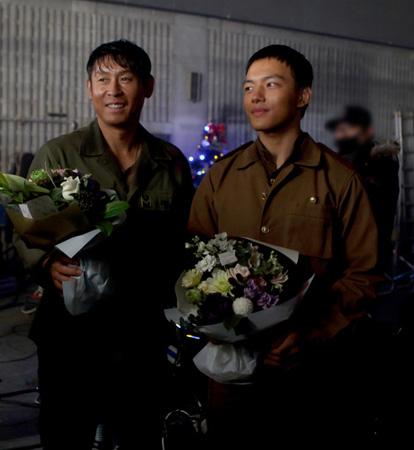ソル・ギョング&ヨ・ジング主演「西部戦線」クランクアップ