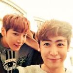 「2PM」ニックン&Jun.K、野獣たちの茶目っ気いっぱいツーショット
