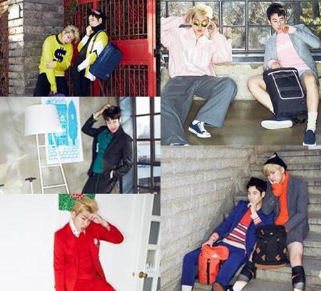 「Block B」ジコ&ピオ、悪童の魅力をアピール! 画報公開