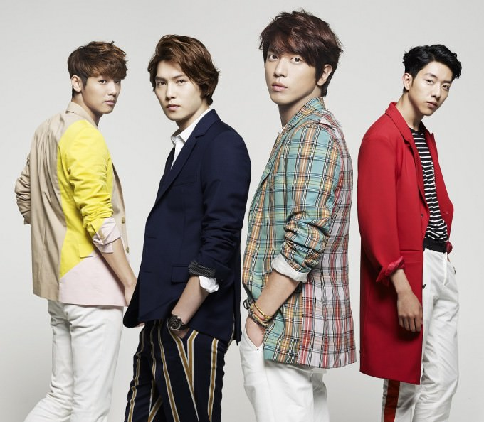CNBLUE-アー写-WAVE