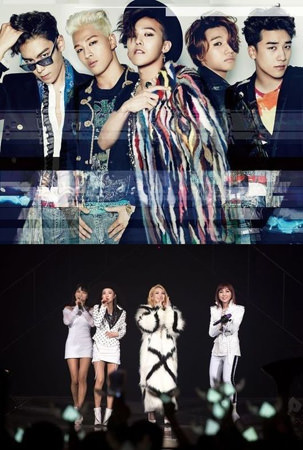 "「BIGBANG」&「2NE1」、「Youtube Music Awards」50人に! ""K−POP歌手で唯一"""