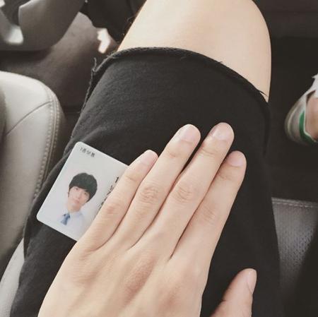 俳優ナムグン・ミン、運転免許証の写真公開「新入社員のようだ」