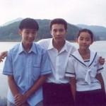 女優ムン・グニョン、俳優ウォンビンとの過去の記念写真が話題に…思い出のドラマ「秋の童話」