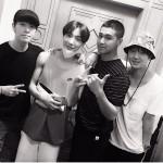 きょう(21日)入隊の「東方神起」ユンホ、入隊直前の写真を同僚アイドルが公開