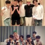 WINNER&iKON、21日にNAVERの「V」アプリで生放送を配信