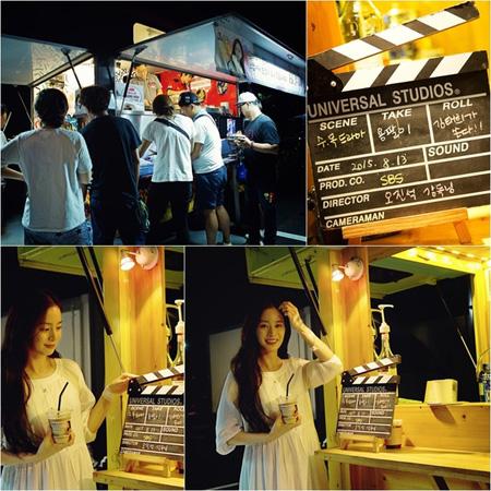 「ヨンパリ」主演女優キム・テヒ、ドラマチームに夜食の差し入れ!