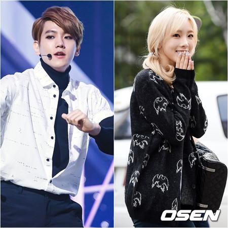 「少女時代」テヨン&「EXO」BAEK HYUN、決別説が浮上…
