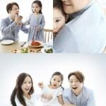 元「NRG」ノ・ユミン、妻&娘と広告撮影 「まるで人形のよう」と話題に
