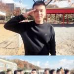 「4Men」キム・ウォンジュ、入隊写真を公開 「すぐに帰ってきます」