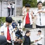 SUPER JUNIORイェソンと俳優ヒョヌ、撮影現場の肯定パワー!「錐」