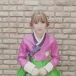 RAINBOWジスク、韓服姿で新年の動画メッセージ