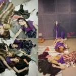 「Brave Girls」、楽屋での姿を公開…床で無造作に爆睡