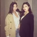 歌手Jessi&ヒョナ(4Minute)、クールなセクシー美に視線集中