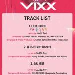 VIXX、5thシングル「Zelos」のメドレー映像&トラックリストを公開