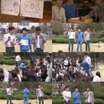ボーカルグループ「V.O.S」 初のバスキング公演、女子大生の感性にタッチ