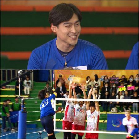 俳優ク・ギョイク、「芸・体・能」バレーボール団のメンバーに電撃合流