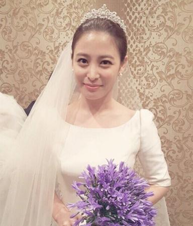 きょう結婚の女優パク・ヒボン、ウエディングドレス姿を公開!