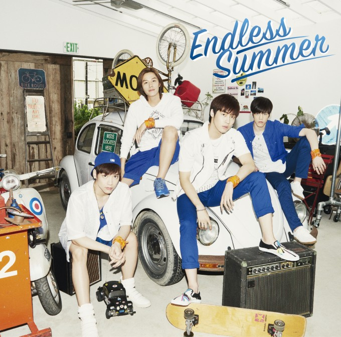사본 -N.Flying「Endless Summer」ジャケット写真