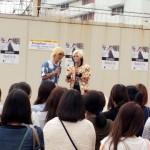「イベントレポ」KangNam(カンナム)、1stシングル発売記念イベントに ゴールデンボンバー歌広場が登場!