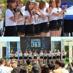 「宇宙少女」がキャンパスアタック! 学園祭で大人気