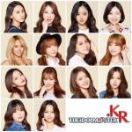 「アイドルマスター.KR」オーディション合格者14 名発表︕