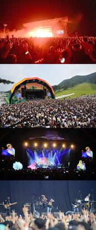 「VALLEY ROCK」、3日間で9万人の観客を動員…世界的歌手・インディーズバンドらが一堂に