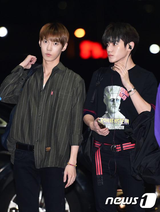 NCT 도영-태용, 'V라인 미남'