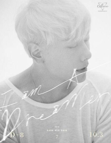 パク・ヒョシン、ニューアルバムのタイトルは「I am A Dreamer」