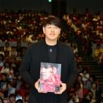 「取材レポ」リュ・シウォン、ファンからのバースデーソングに笑顔!ハイタッチも交わした、新アルバム「WISH」発売記念イベント開催!